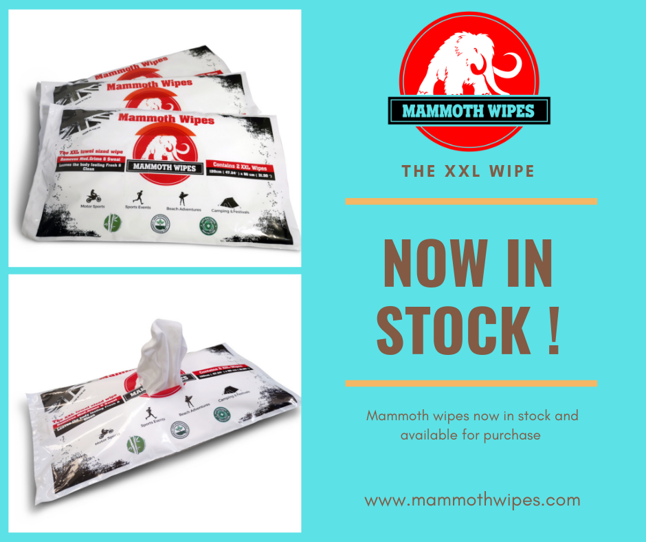 Mammoth Wipes now in stock